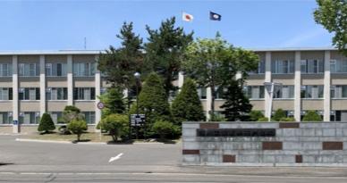 旭川工業高等専門学校の外観:来校時の参考にしてください